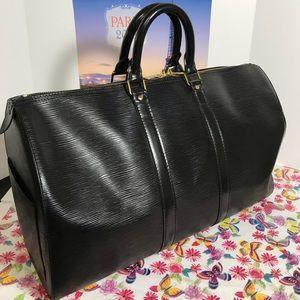 Authentic Louis Vuitton Speedy 45 in EPI leather